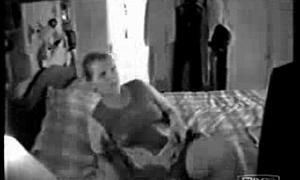 My mom masturbating watching a porno. Mingy cam