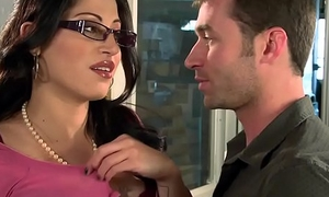 Heavy Tits at Work - You Dear one My Nipper You Are Fired scene starring Daisy Cruz with the addition of James Deen