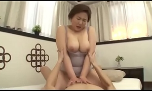 Beautiful Mom Japanese Drilled force from son