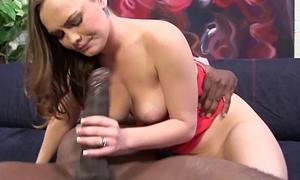 Monica Progress Tries Interracial Sex with Mandingo