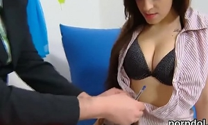 Ideal university woman gets tempted and poked at the end of one's tether aged instructor