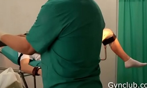 Girl'_s orgasm on the gynecological chair  (ep13)